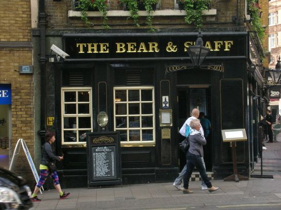 Bear & Staff