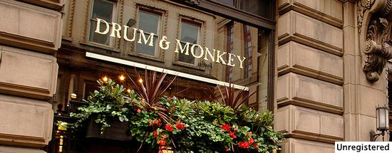 Drum & Monkey
