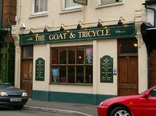 Goat & Tricycle