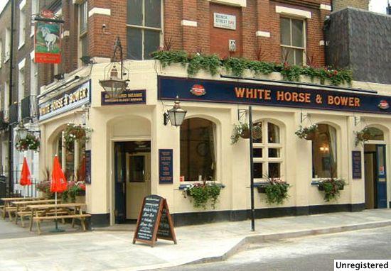 White Horse & Bower